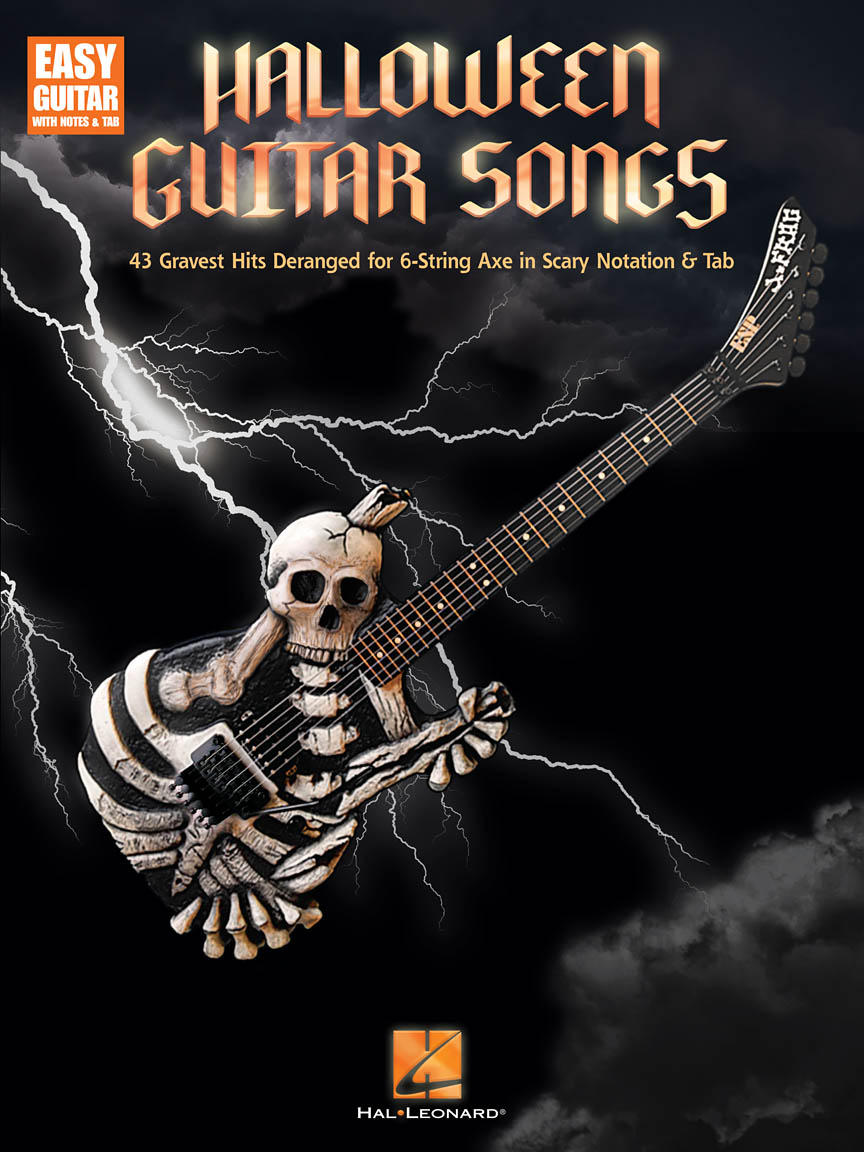 Product Cover for Halloween Guitar Songs
