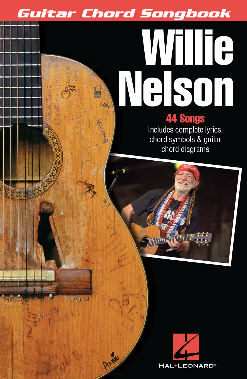 Product Cover for Willie Nelson – Guitar Chord Songbook