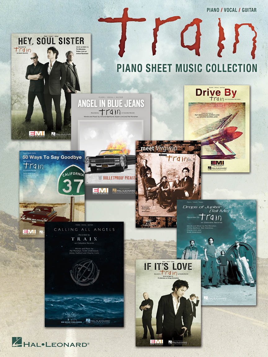 Product Cover for Train – Piano Sheet Music Collection