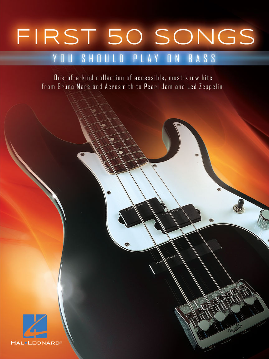 Product Cover for First 50 Songs You Should Play on Bass