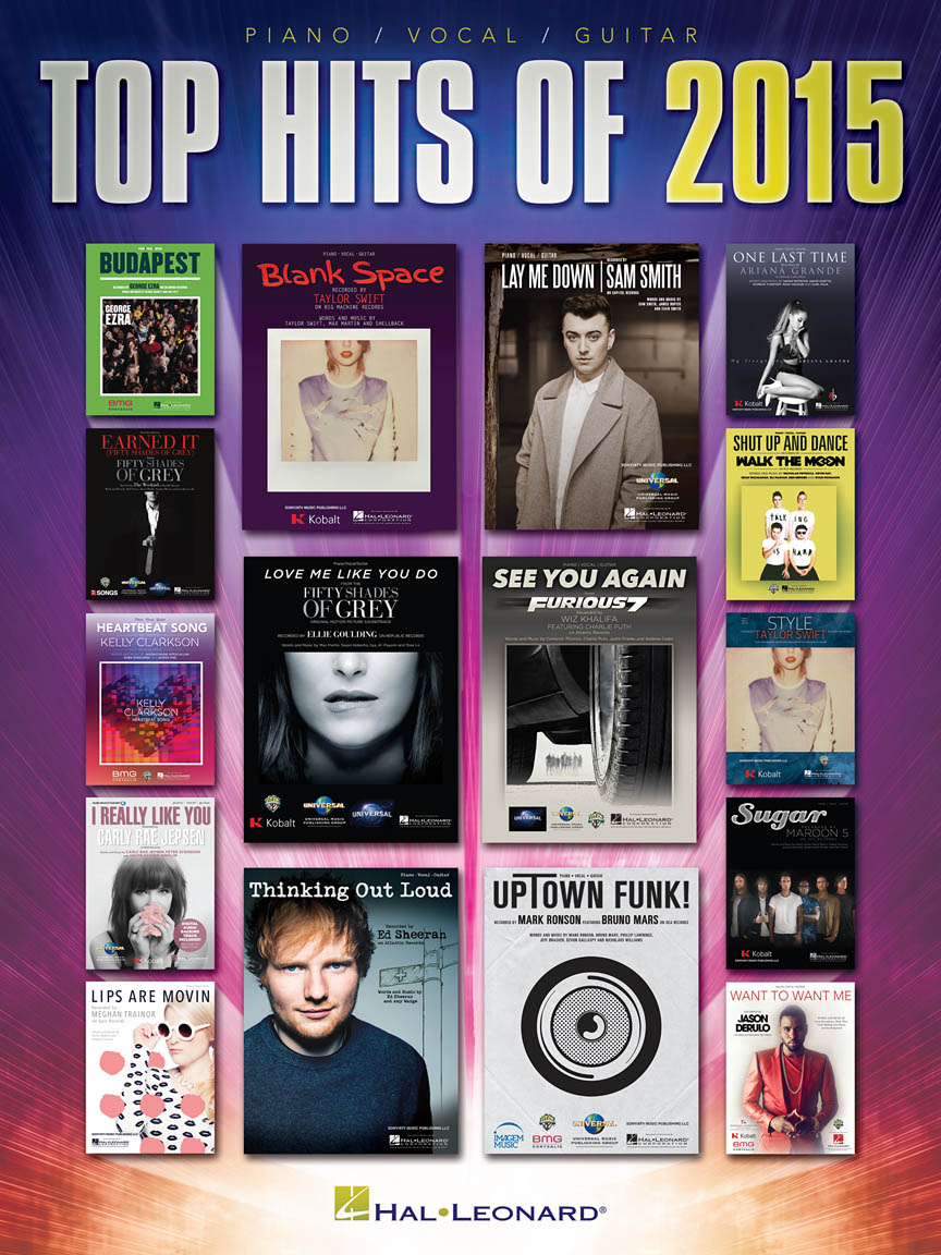 Product Cover for Top Hits of 2015