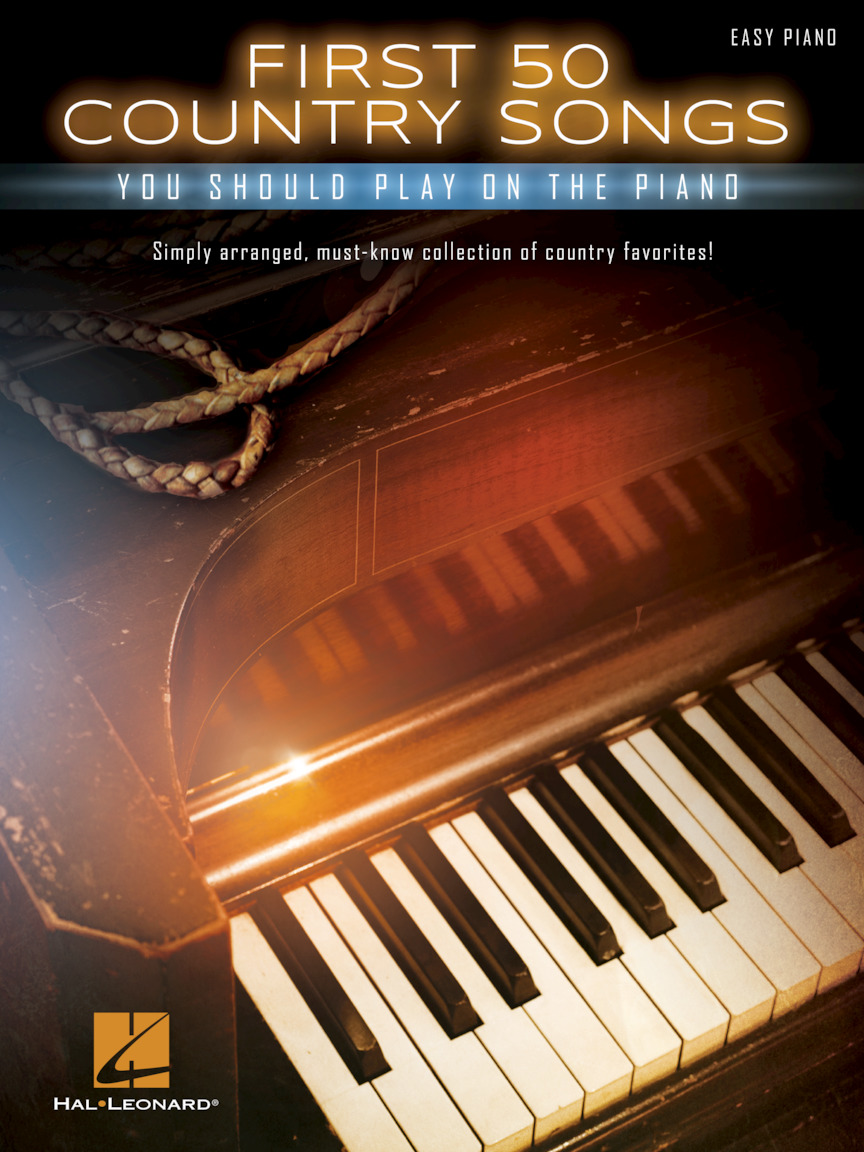 Product Cover for First 50 Country Songs You Should Play on the Piano