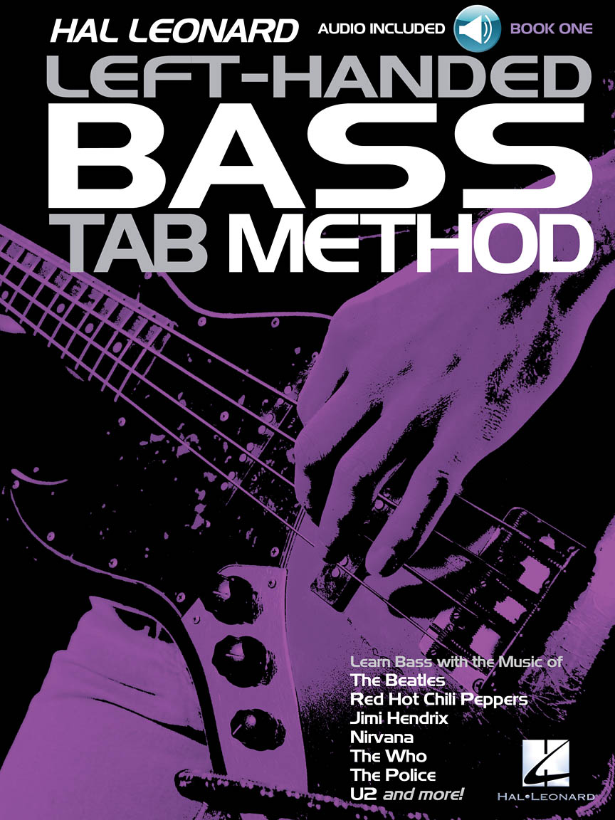 Product Cover for Hal Leonard Left-Handed Bass Tab Method – Book 1