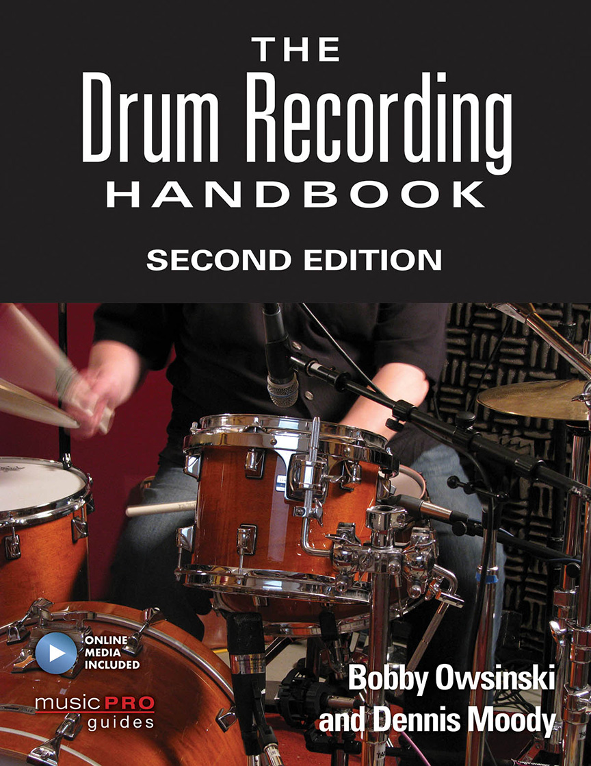 Product Cover for The Drum Recording Handbook