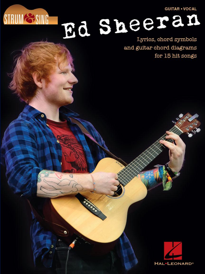 Product Cover for Ed Sheeran – Strum & Sing Guitar