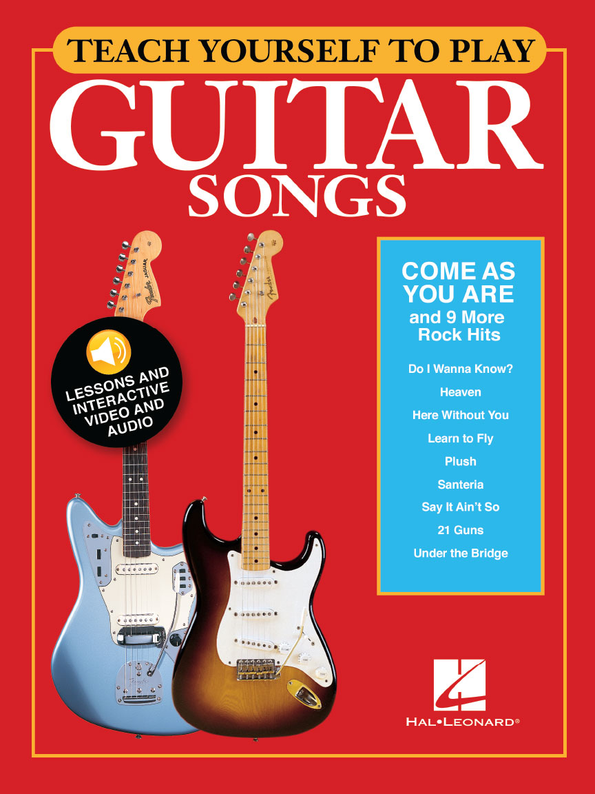 "Product Cover for Teach Yourself to Play Guitar Songs: ""Come As You Are"" & 9 More Rock Hits"