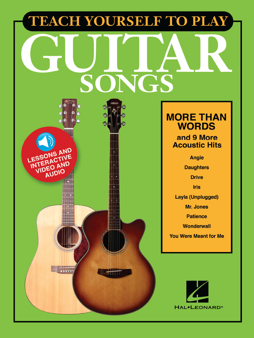 """Product Cover for Teach Yourself to Play Guitar Songs: """"More Than Words"""" & 9 More Acoustic Hits"""