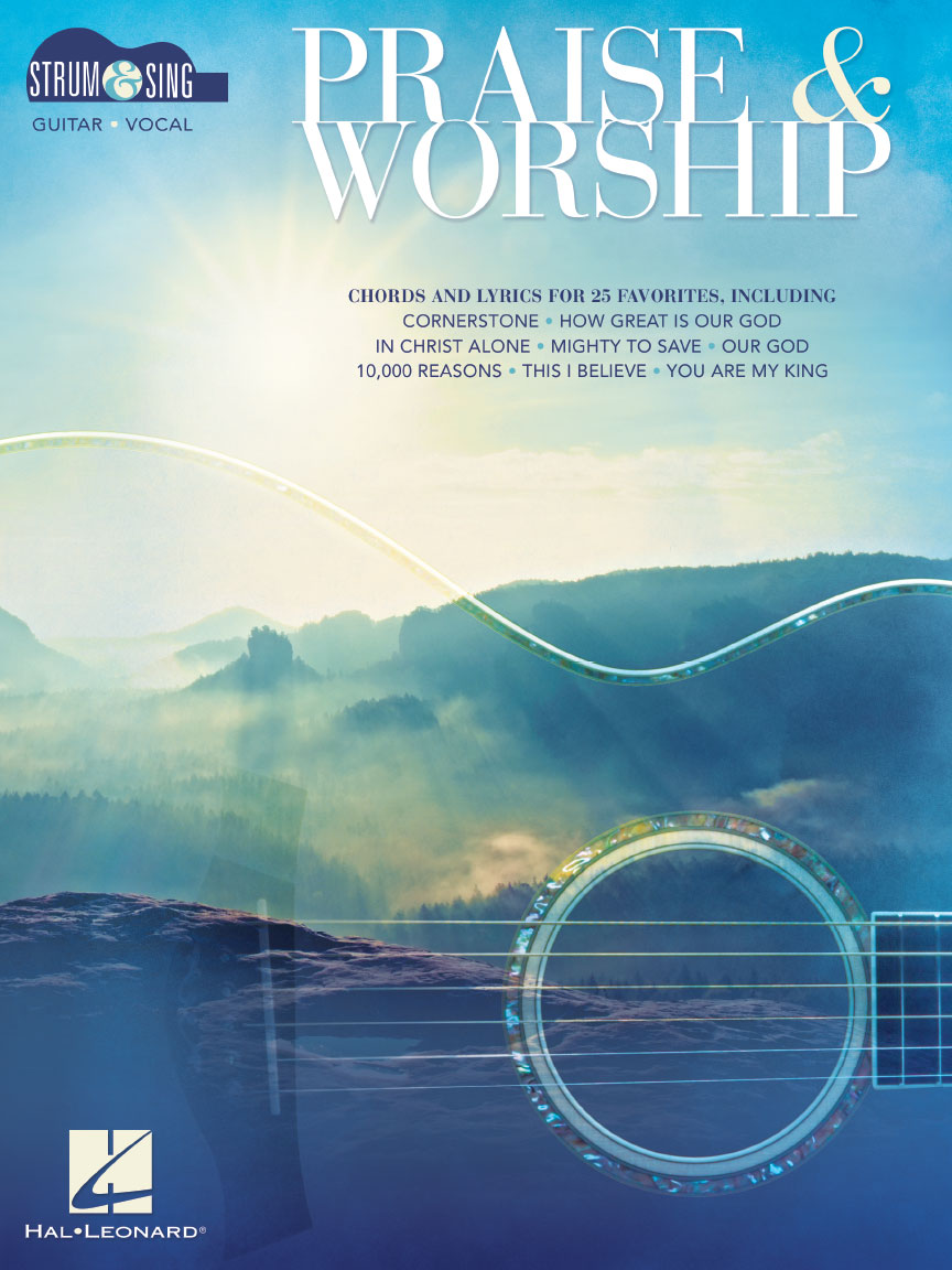 Product Cover for Praise & Worship – Strum & Sing Guitar