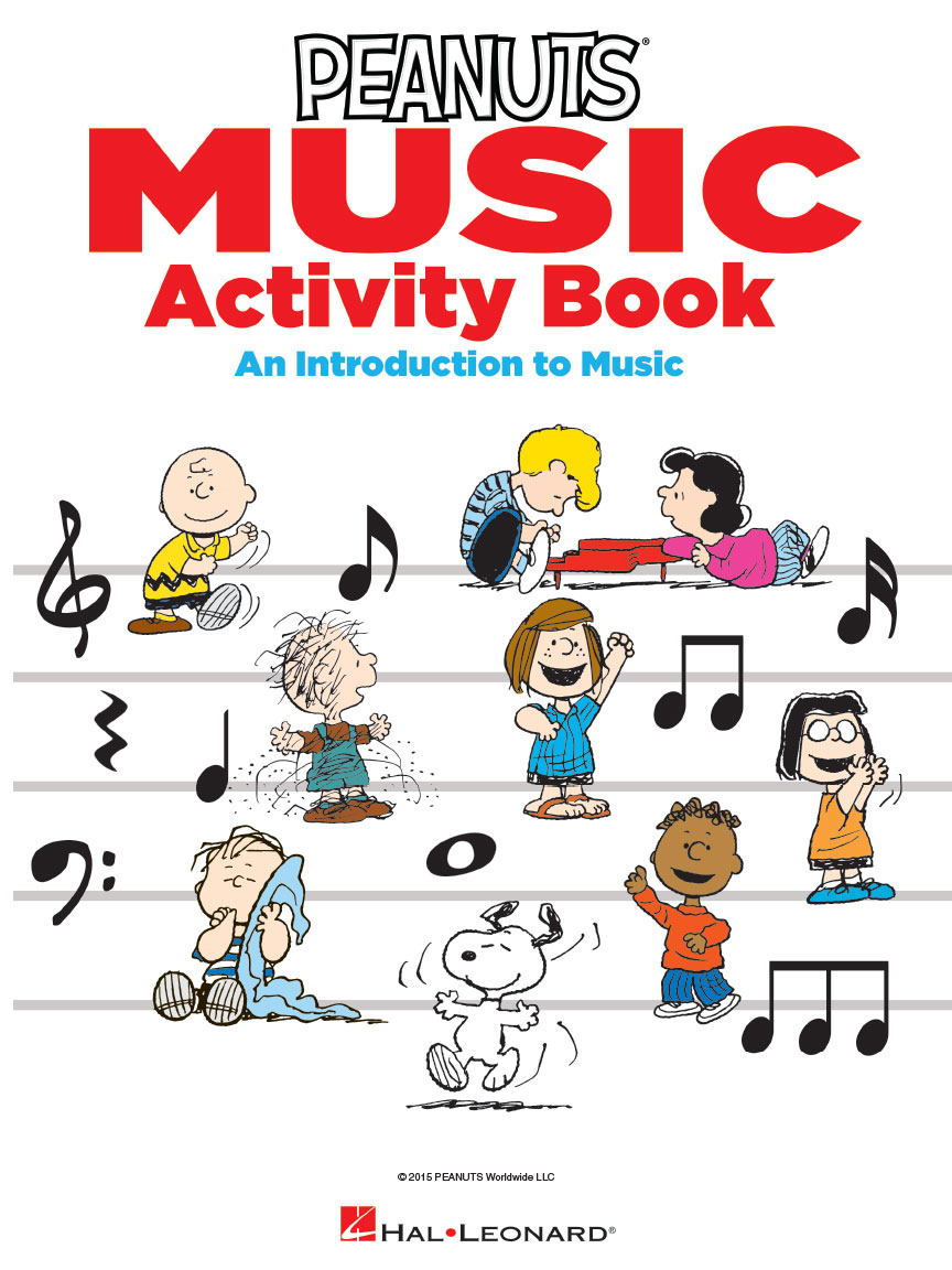 Product Cover for The Peanuts Music Activity Book