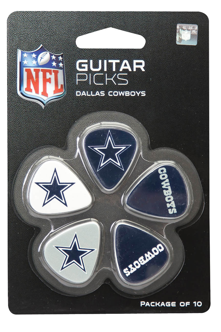 Product Cover for Dallas Cowboys Guitar Picks