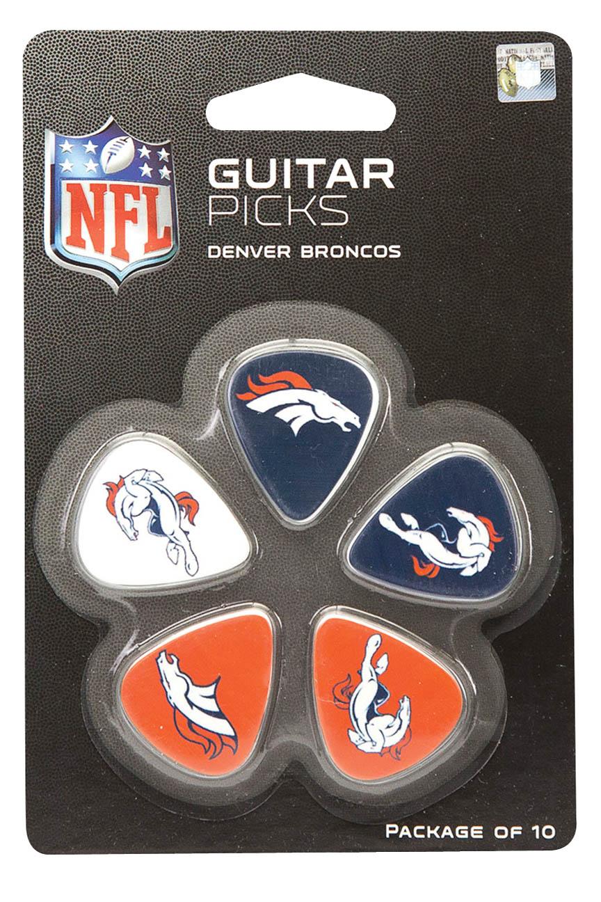 Product Cover for Denver Broncos Guitar Picks