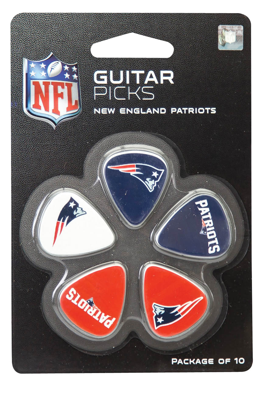 Product Cover for New England Patriots Guitar Picks