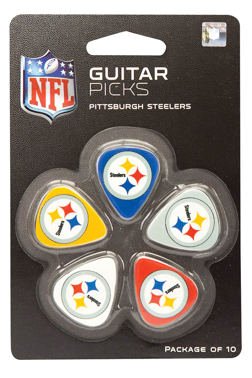 Product Cover for Pittsburgh Steelers Guitar Picks