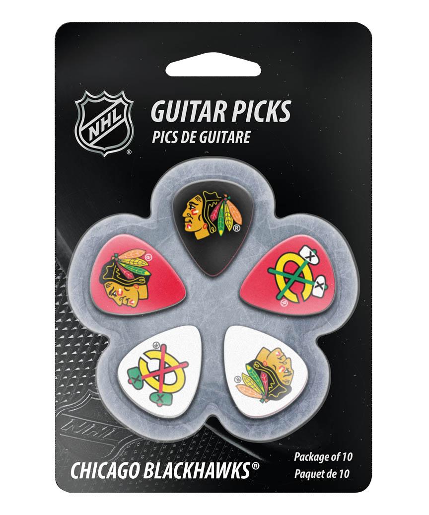 Product Cover for Chicago Blackhawks Guitar Picks