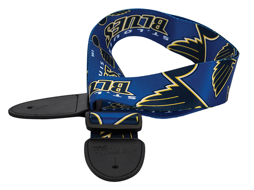 Product Cover for St. Louis Blues Guitar Strap