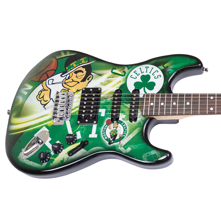Product Cover for Boston Celtics Northender Guitar