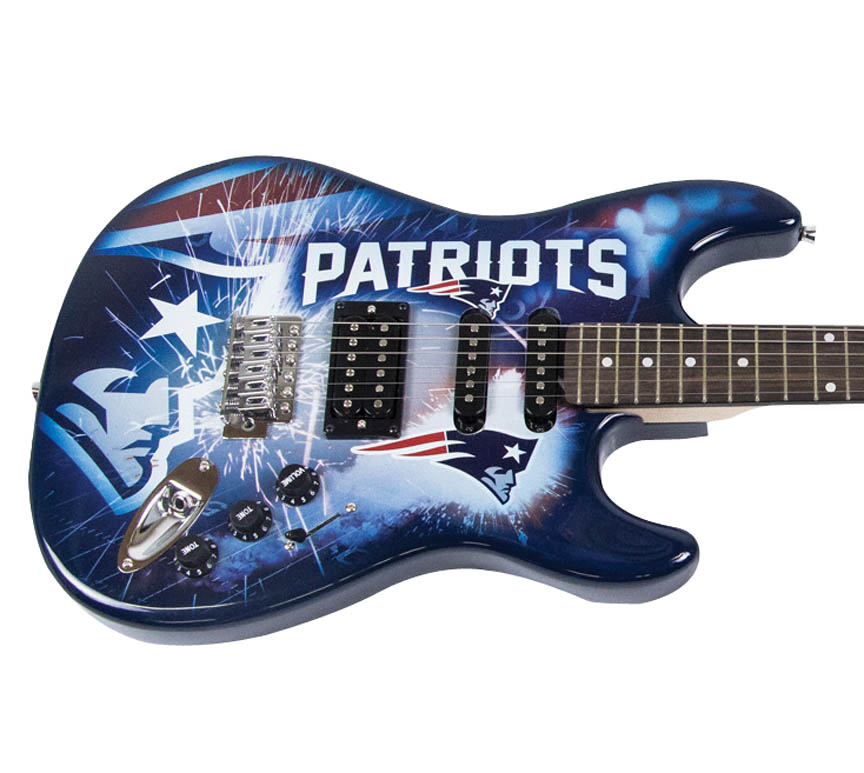 Product Cover for New England Patriots Northender Guitar