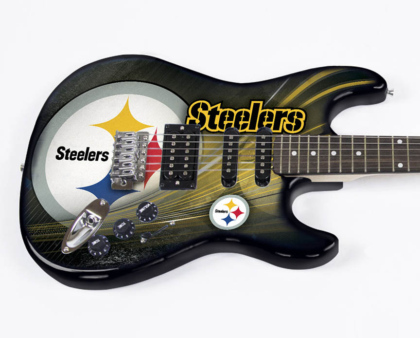 Product Cover for Pittsburgh Steelers Northender Guitar