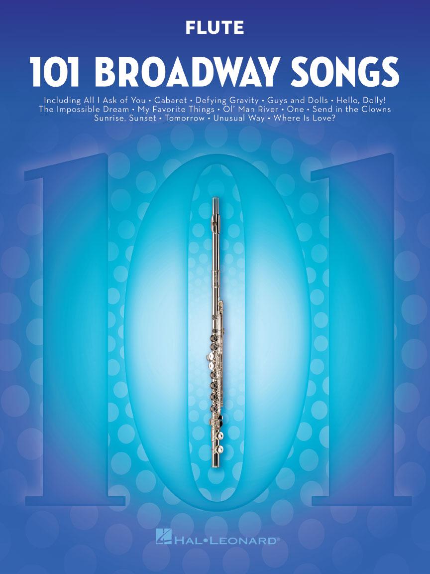 Product Cover for 101 Broadway Songs for Flute