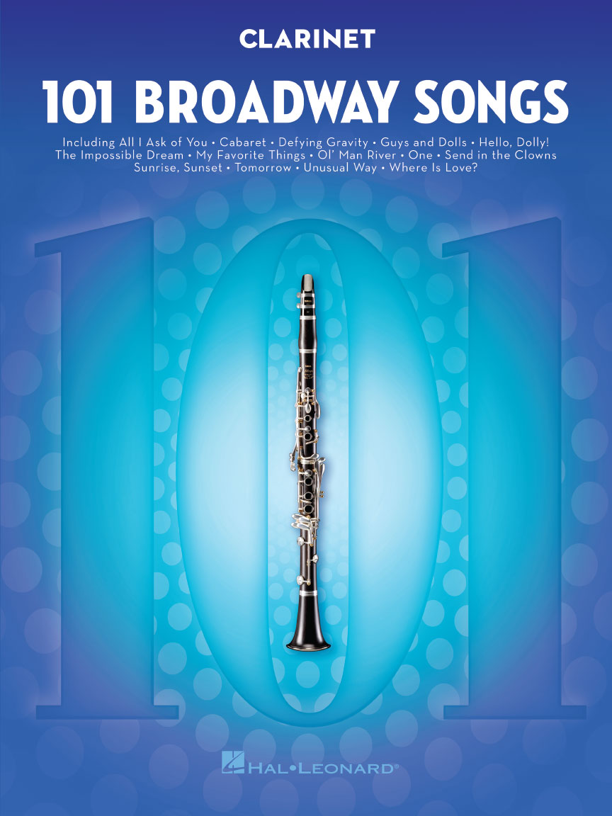 Product Cover for 101 Broadway Songs for Clarinet