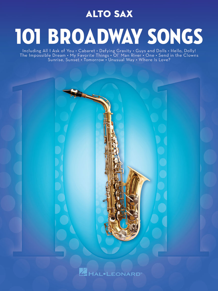 Product Cover for 101 Broadway Songs for Alto Sax