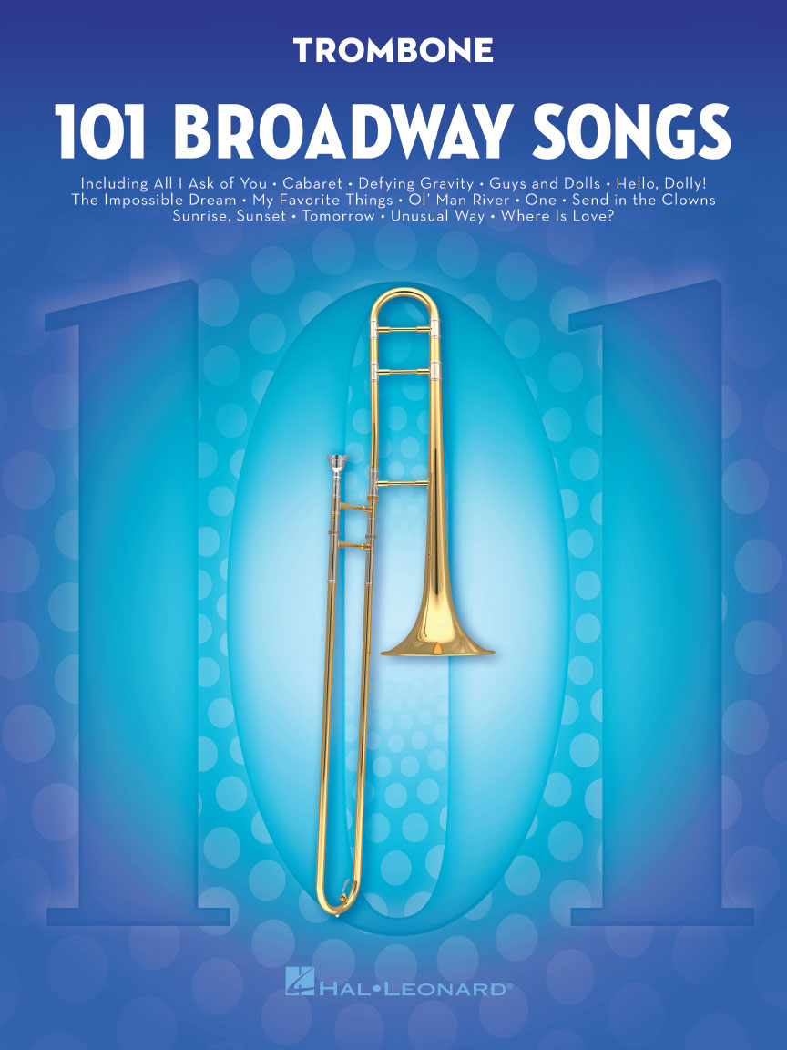 Product Cover for 101 Broadway Songs for Trombone