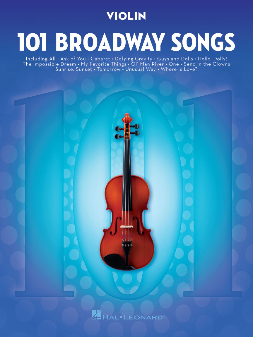 Product Cover for 101 Broadway Songs for Violin