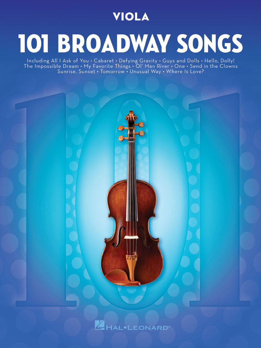 Product Cover for 101 Broadway Songs for Viola