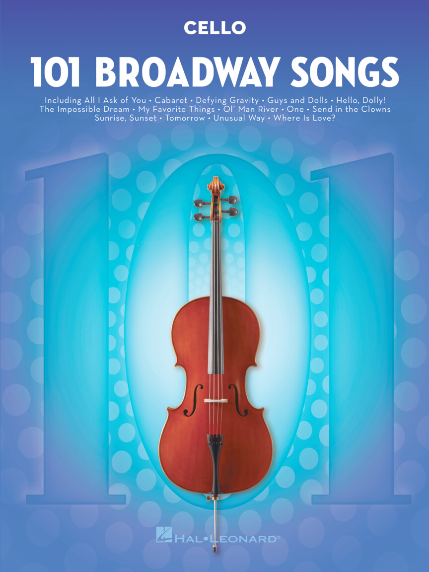 Product Cover for 101 Broadway Songs for Cello