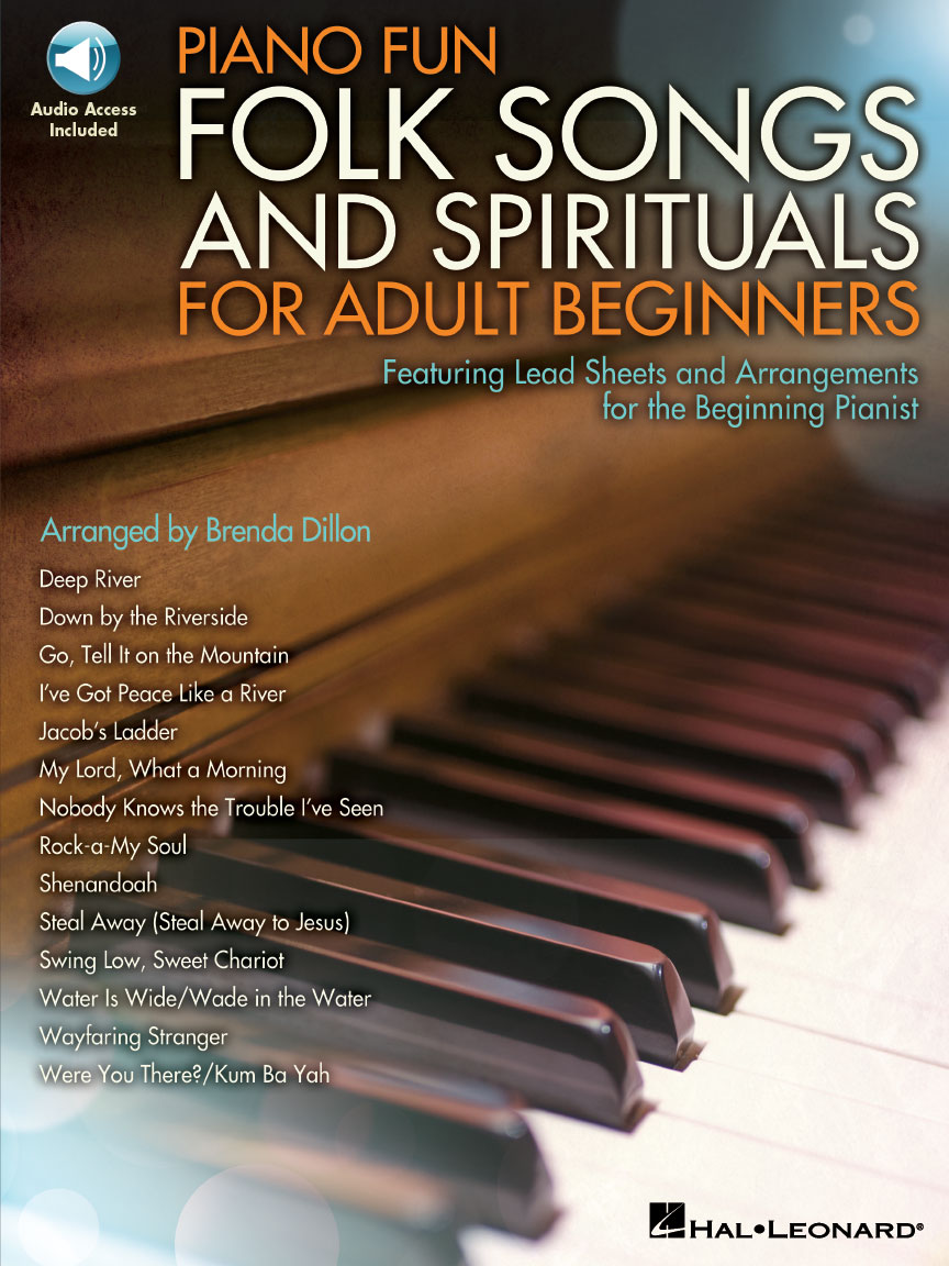Product Cover for Piano Fun – Folk Songs and Spirituals for Adult Beginners