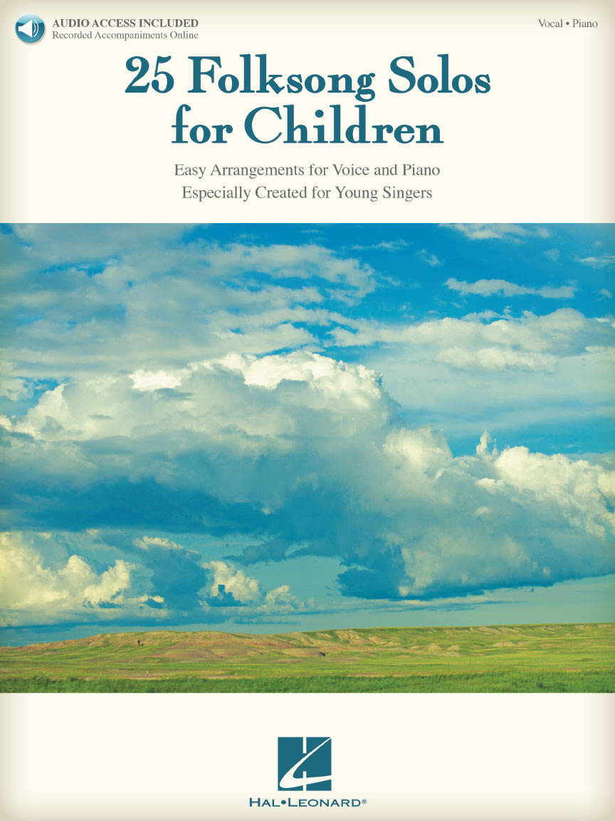 Product Cover for 25 Folksong Solos for Children