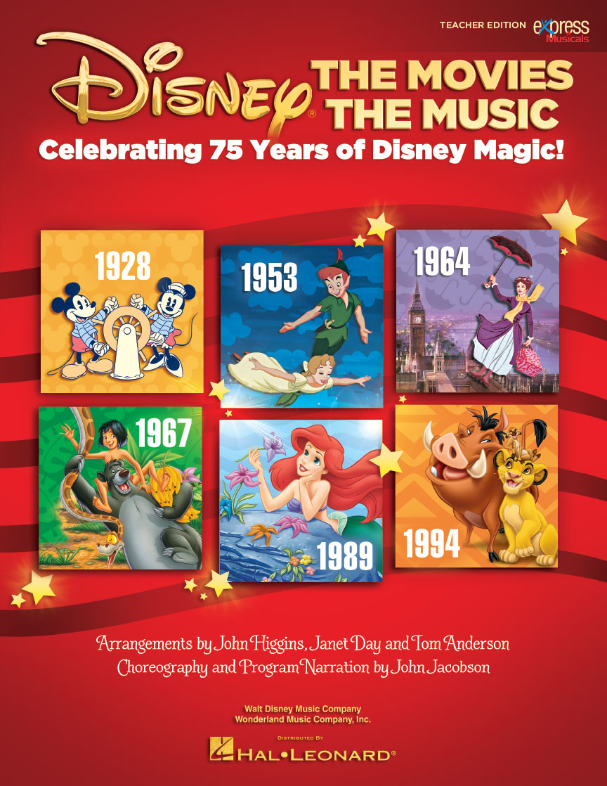 Product Cover for Disney: The Movies, The Music