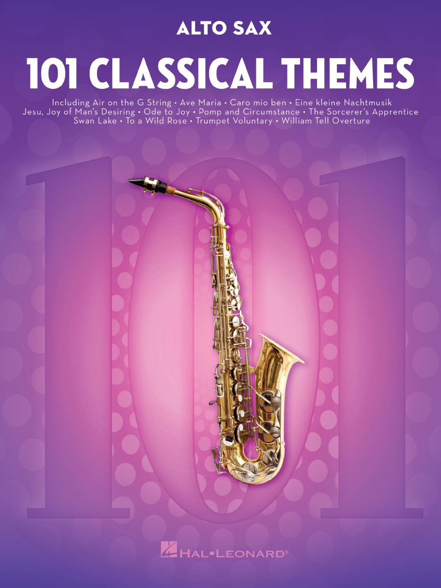 Product Cover for 101 Classical Themes for Alto Sax