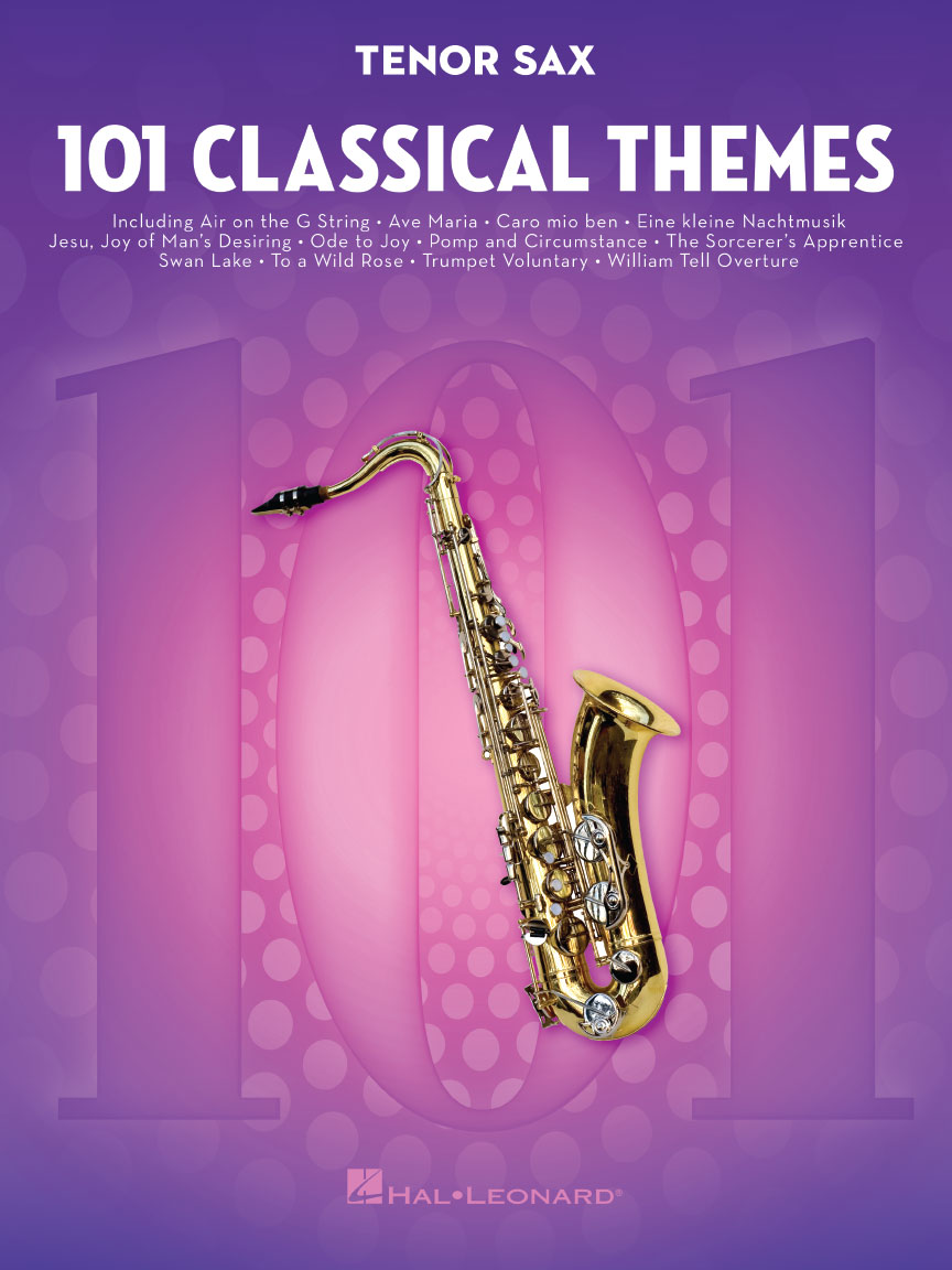 Product Cover for 101 Classical Themes for Tenor Sax