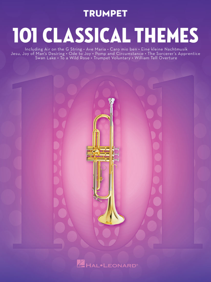 Product Cover for 101 Classical Themes for Trumpet