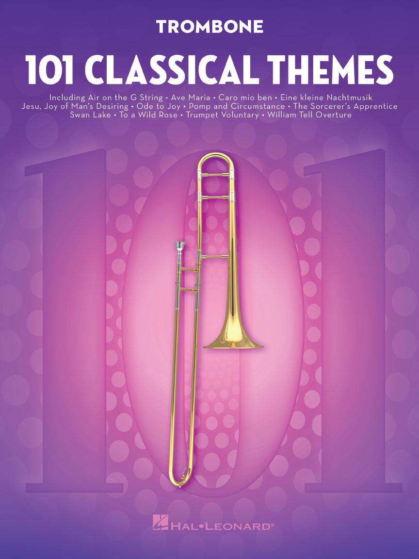 Product Cover for 101 Classical Themes for Trombone