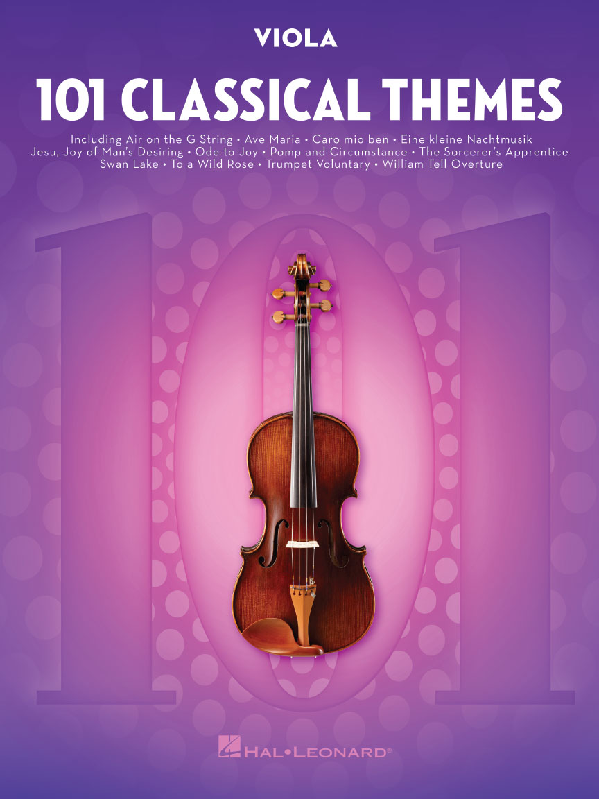 Product Cover for 101 Classical Themes for Viola