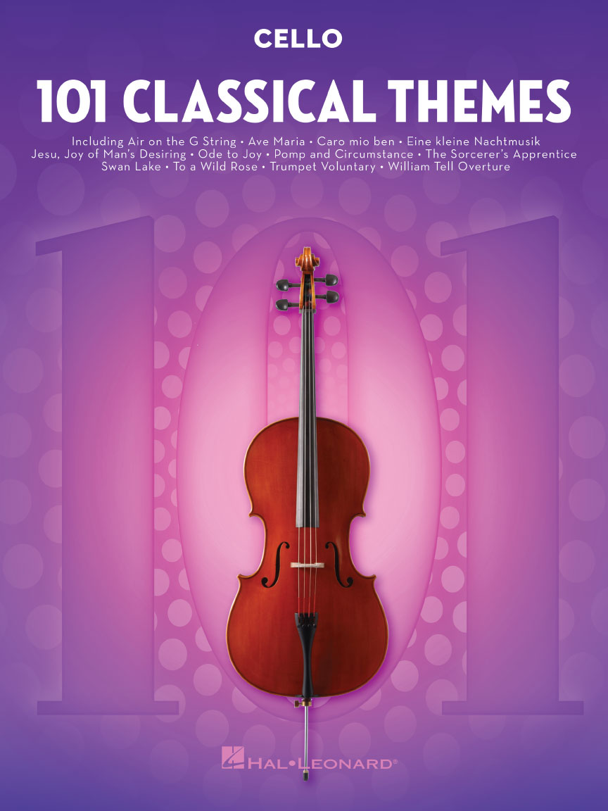 Product Cover for 101 Classical Themes for Cello