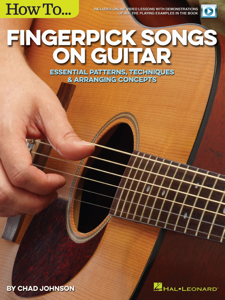 Product Cover for How to Fingerpick Songs on Guitar