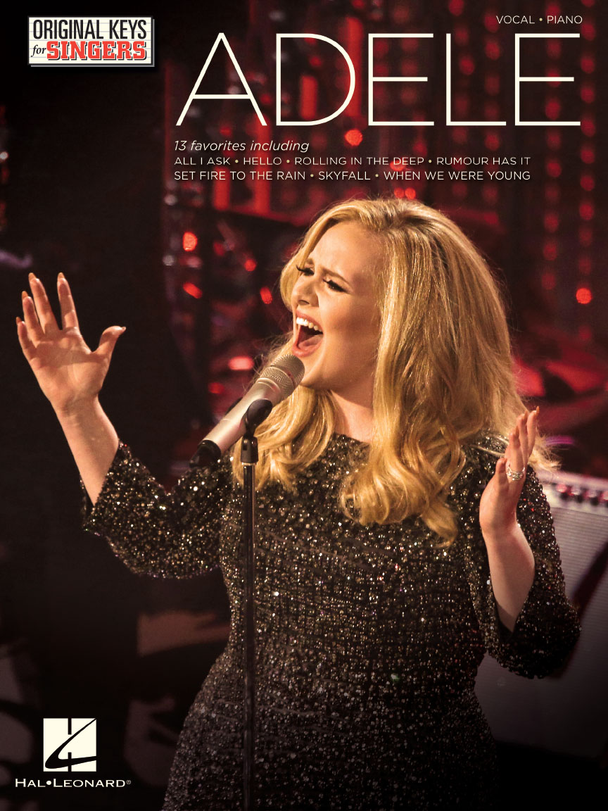 Product Cover for Adele – Original Keys for Singers