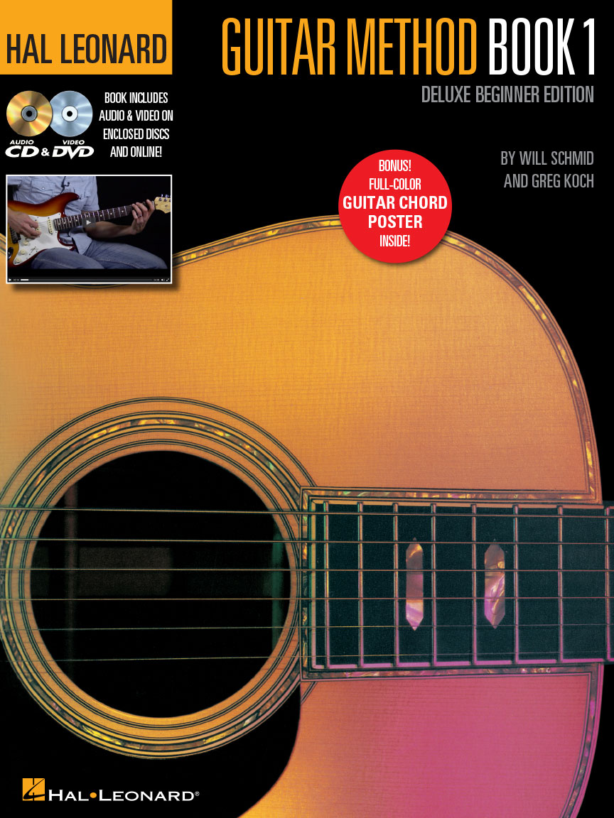 Product Cover for Hal Leonard Guitar Method – Book 1, Deluxe Beginner Edition