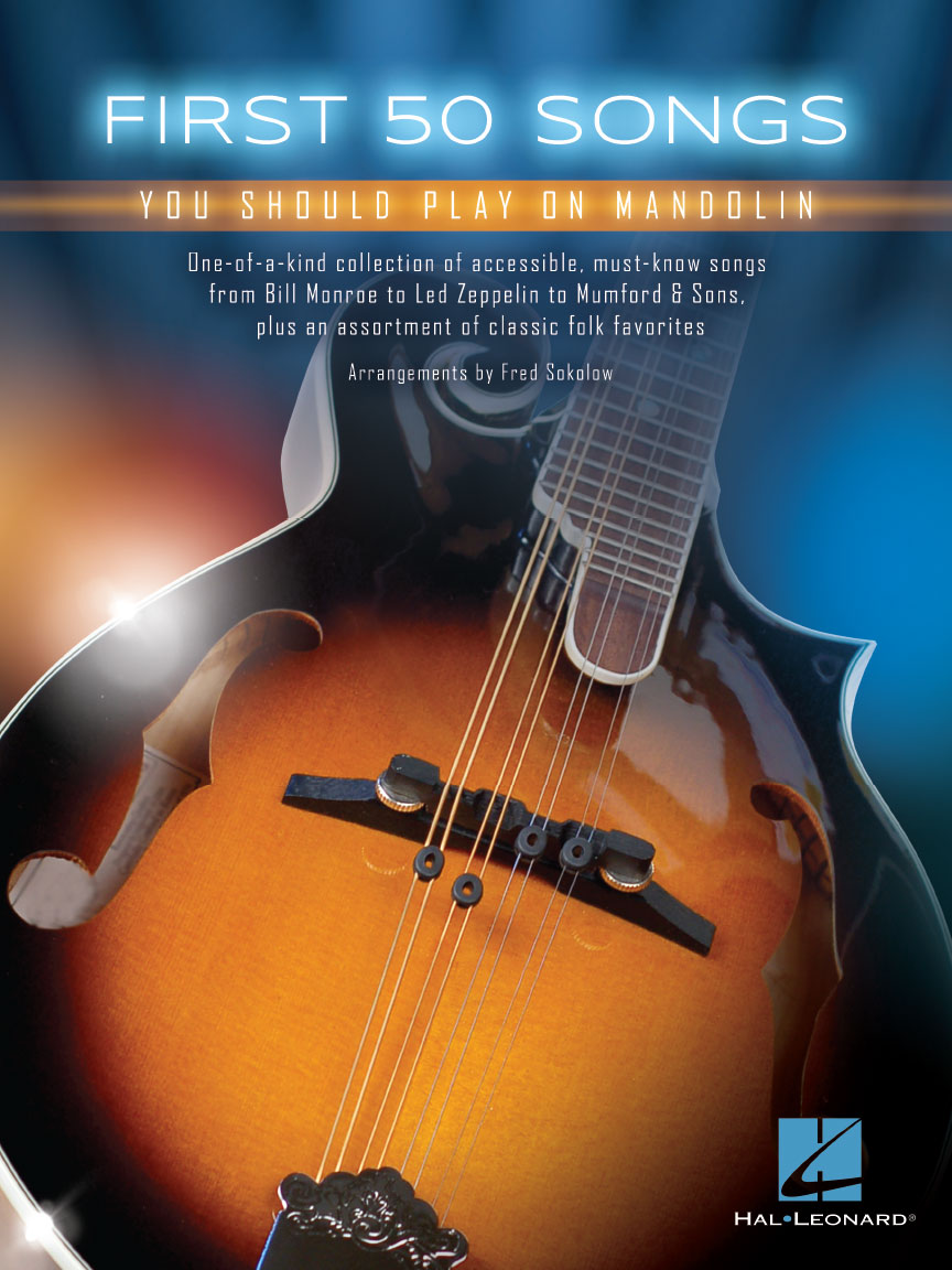 Product Cover for First 50 Songs You Should Play on Mandolin
