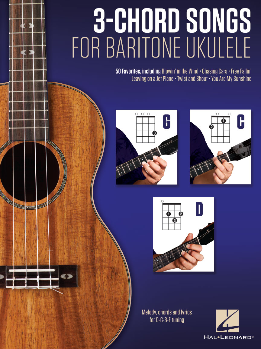 Product Cover for 3-Chord Songs for Baritone Ukulele (G-C-D)