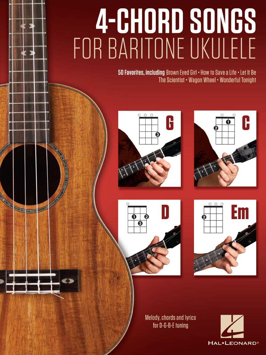 Product Cover for 4-Chord Songs for Baritone Ukulele (G-C-D-Em)