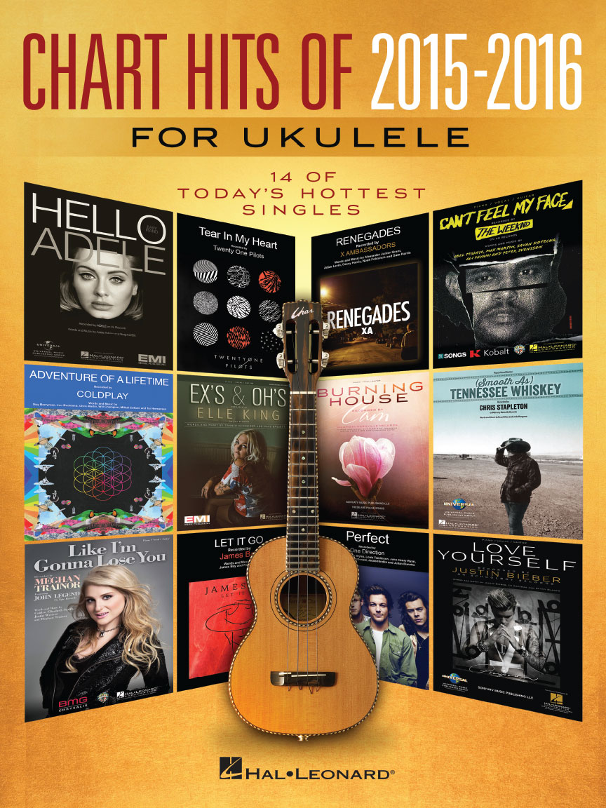 Product Cover for Chart Hits of 2015-2016 for Ukulele