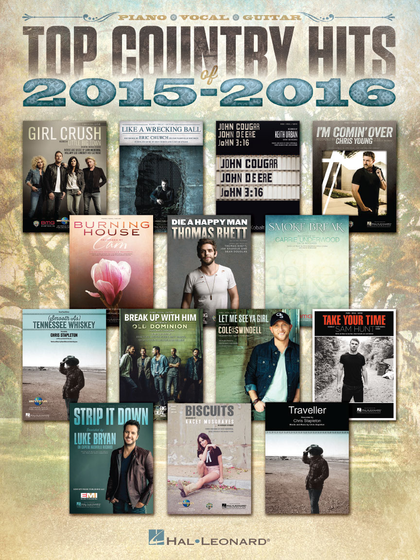Product Cover for Top Country Hits of 2015-2016