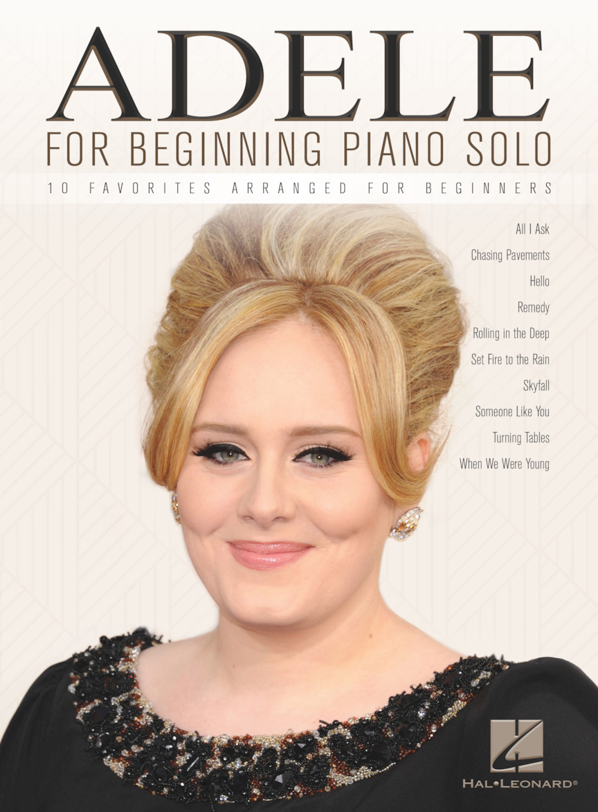 Product Cover for Adele for Beginning Piano Solo
