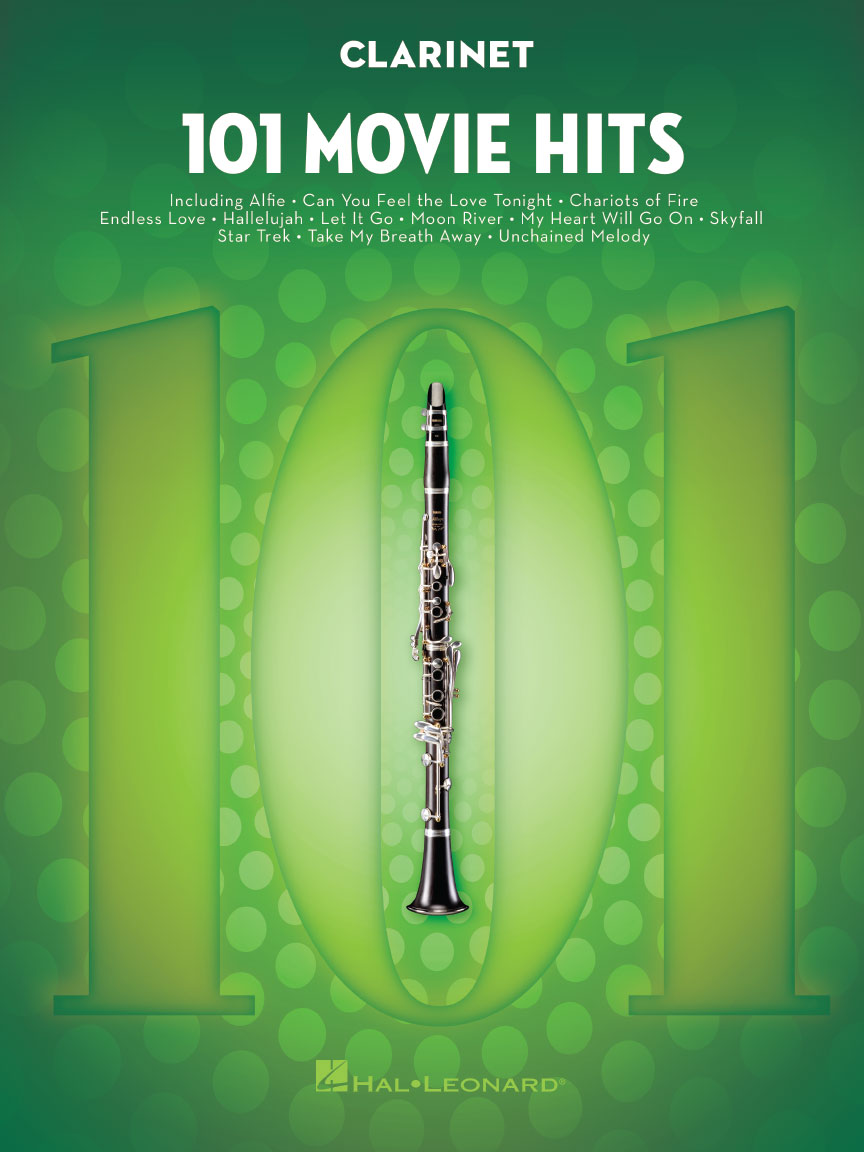 Product Cover for 101 Movie Hits for Clarinet
