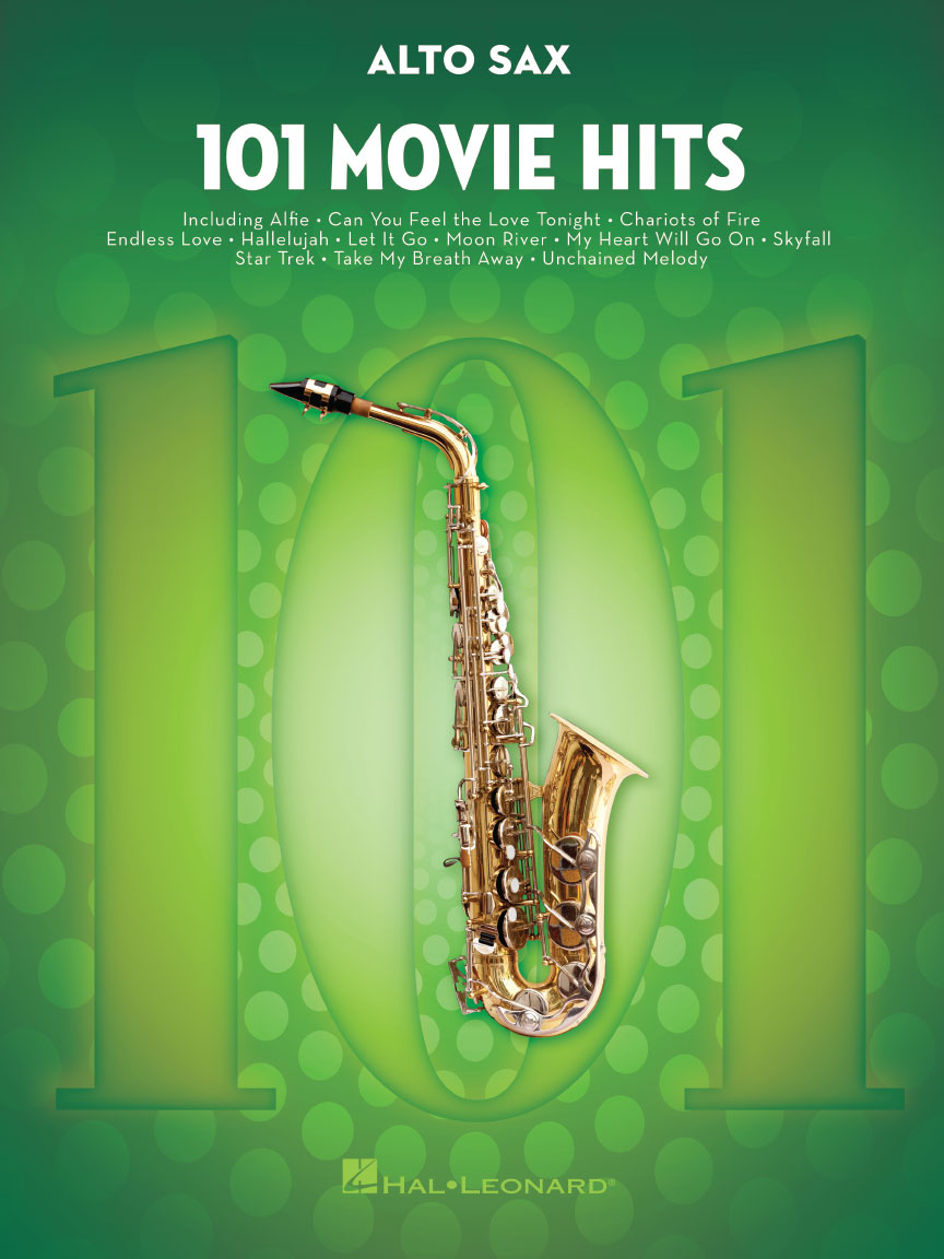 Product Cover for 101 Movie Hits for Alto Sax
