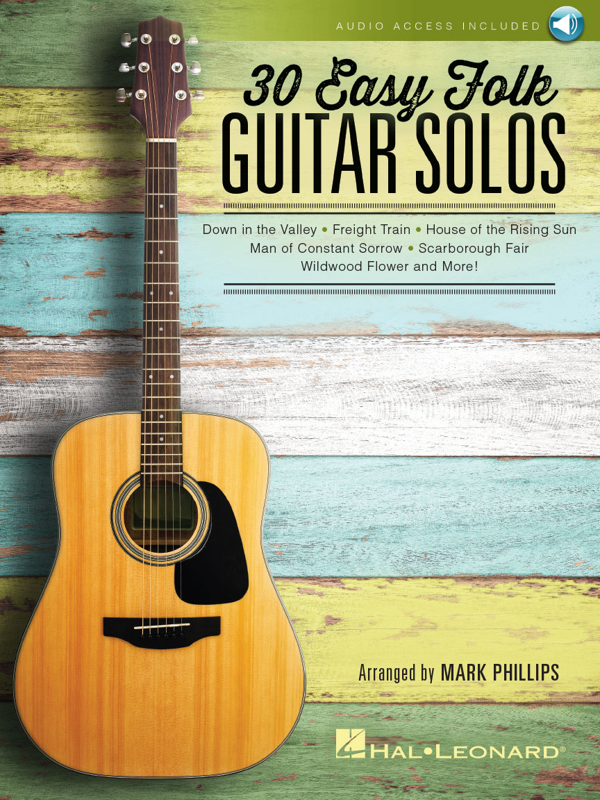 Product Cover for 30 Easy Folk Guitar Solos